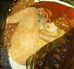 Danae by Gustav Klimt - Hot Stuff!!
